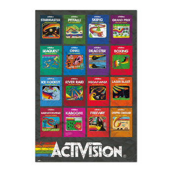 Poster Activision Game - Covers