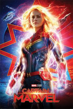 Poster Captain Marvel - Higher, Further, Faster