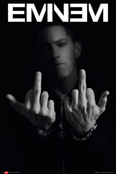 Poster Eminem - fingers