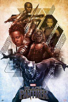 Poster Marvel - Black Panther