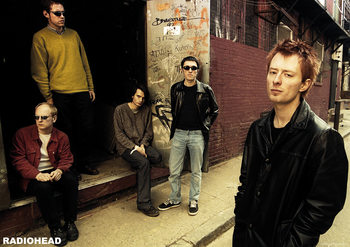 Poster Radiohead - Back Alley 2005