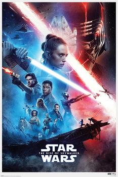 Poster Star Wars: L'ascension de Skywalker - Saga