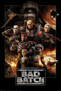 Poster Star Wars: The Bad Batch - Montage