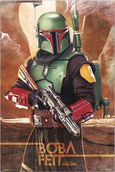 Poster Star Wars: The Mandalorian - Boba Fett
