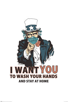 Poster Vincent Trinidad - Wash Your Hands