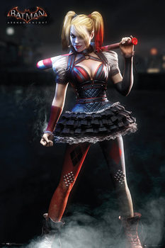 Batman Arkham Knight - Harley Quinn Affiche