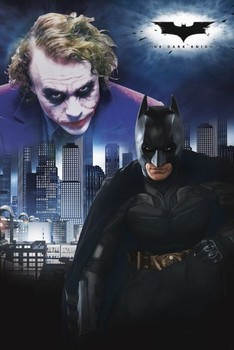 BATMAN - duel Poster