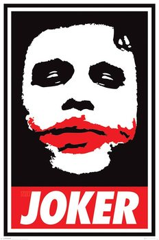 Batman The Dark Knight: Le Chevalier noir - Obey The Joker Poster