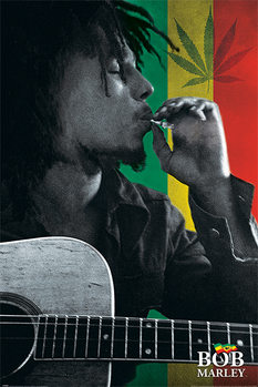 Bob Marley - Smoke Poster