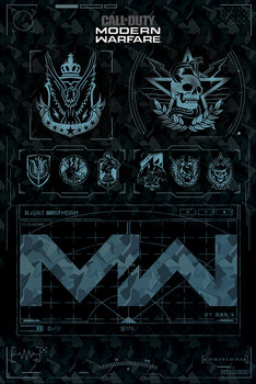 Call of Duty: Modern Warfare - Fractions Poster