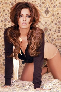 Cheryl Cole - bed Poster