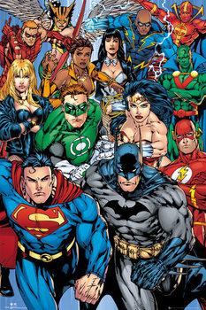 DC COMICS - collage Affiche