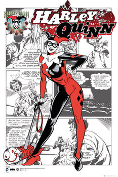 DC Comics - Harley Quinn Comic Affiche