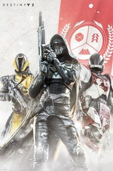 Destiny 2 - Characters Poster