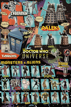 Doctor Who - Characters Affiche