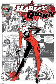 Harley Quinn - aka Dr. Harleen Francis Quinzel Affiche