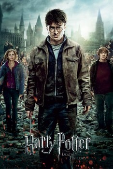 HARRY POTTER 7 - part 2 one sheet Affiche
