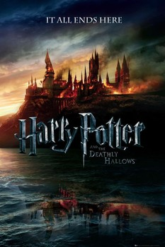HARRY POTTER 7 - teaser Affiche