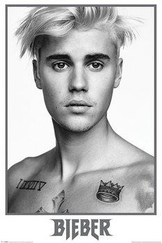 Justin Bieber - Bieber Black and White Affiche