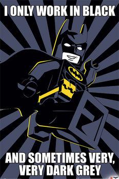 Lego Batman - Meme Affiche
