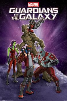Les Gardiens de la Galaxie - Group Poster