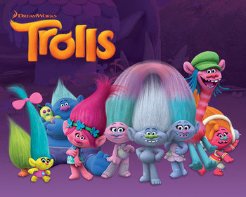 Les Trolls - Characters Poster