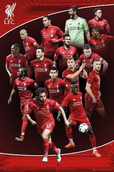 Liverpool - 2018-2019 Poster
