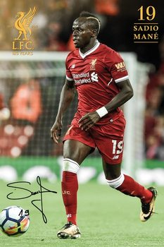 Liverpool - Mane 17/18 Poster