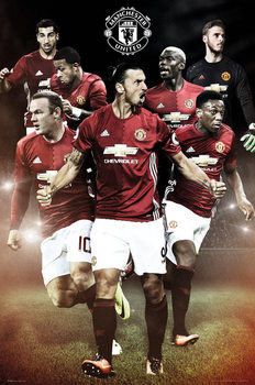 Manchester United - Players Affiche