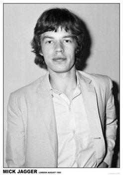 Mick Jagger - Rediffusion TV Studio, Wembley, London 27th August 1965 Poster