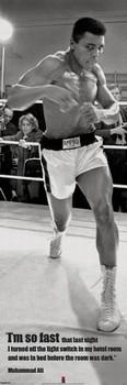 Muhammad Ali - fast Affiche