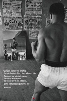 Muhammad Ali - gym Affiche