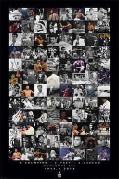Muhammad Ali - Montage Affiche