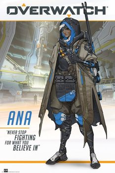 Overwatch - Ana Poster
