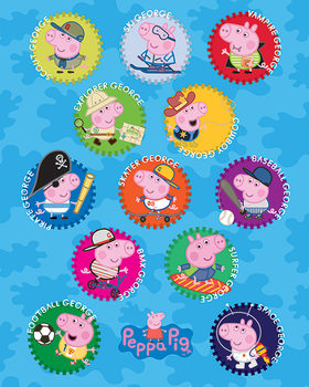 Peppa Pig Cochon - George Poster