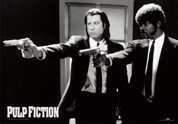 Pulp fiction - guns Poster en 3D