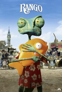 Rango - Rango with Mr. Timms Poster