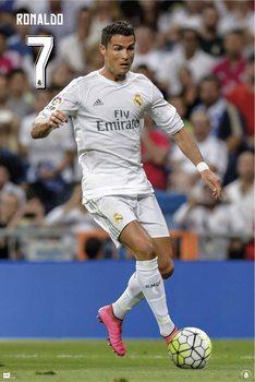 Real Madrid 2015/2016 - Cristiano Ronaldo Poster