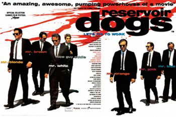 RESERVOIR DOGS – lets go to work Poster