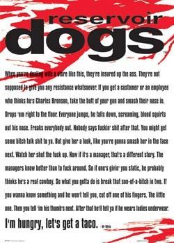 RESERVOIR DOGS - Mr. White Affiche