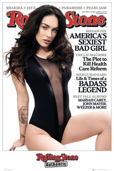 ROLLING STONE - megan fox Poster