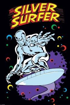 SILVER SURFER - retro Poster