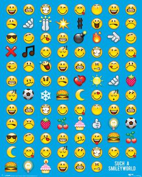 Smiley - Emoticon Poster