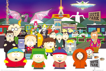 SOUTH PARK - group Poster