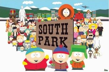SOUTH PARK - opening sequence Poster
