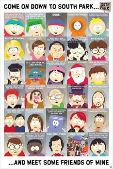 South Park - quotes 2 Poster