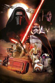 Star Wars, épisode VII : Le Réveil de la Force - Montage Poster