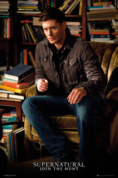 Supernatural - Dean Winchester Affiche
