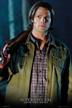 Supernatural - Sam Solo Affiche