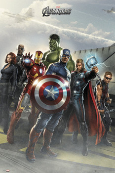 THE AVENGERS - airbase Poster